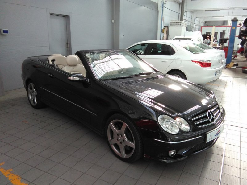 Mercedes-Benz Clase CLK CLK 350 Avantgarde Auto AVANTGARDE