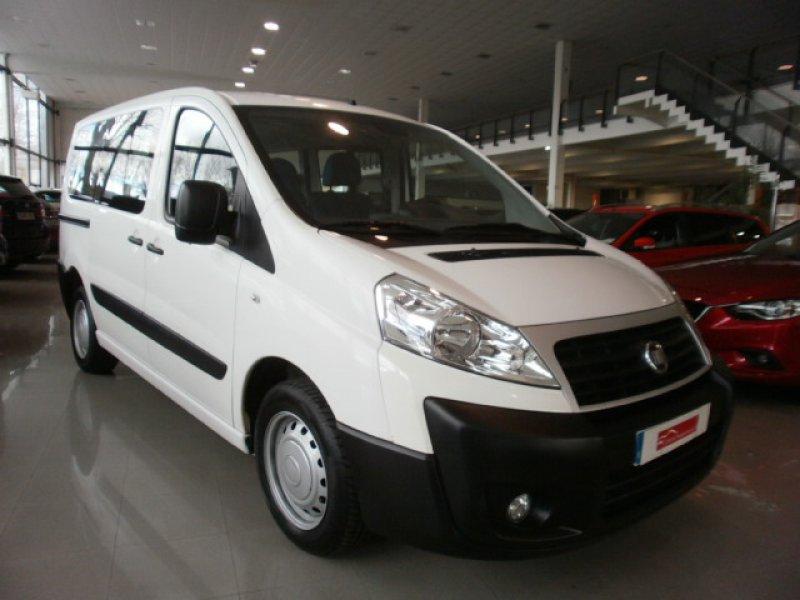 Fiat Scudo 1.6 MJT 90cv Acristalada 6 Plazas -