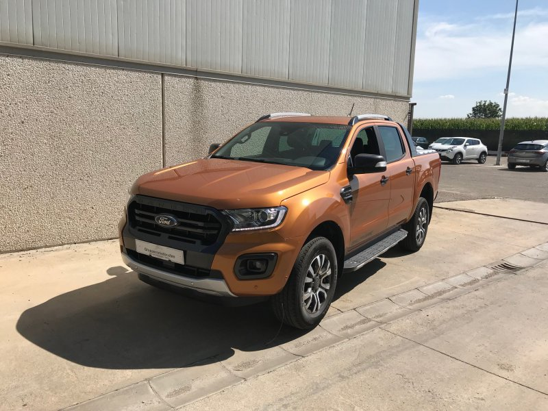 Ford Ranger 2.0 TDCi 157kW 4x4 Dob Cab AT Wildtrack