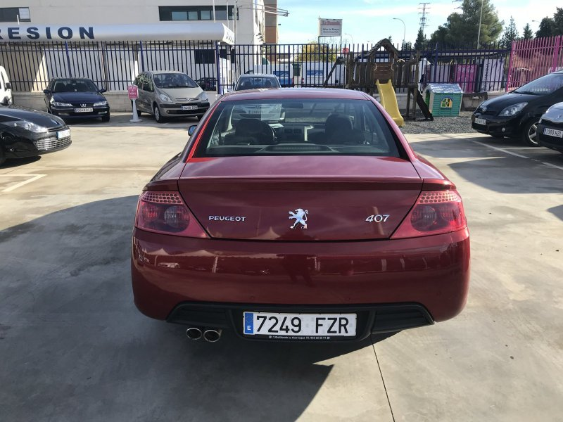 Peugeot 407 HDI 136 Coupé Pack
