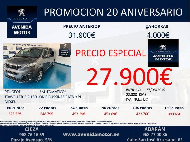 Peugeot Traveller 2.0 BlueHDi 130KW EAT8 Long Business