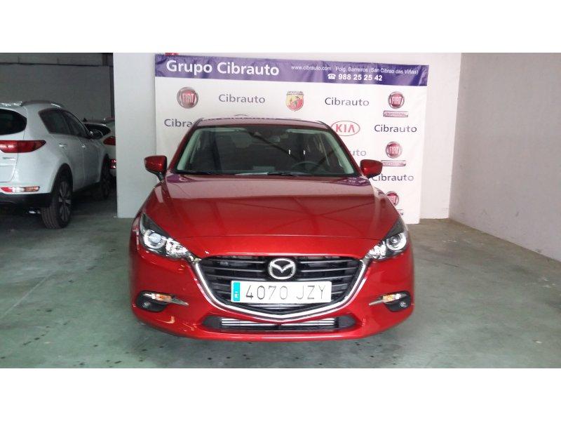 Mazda Mazda3 2.2 DE 110kW MT Style+Navegador