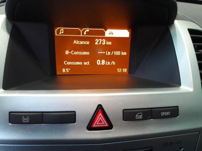 Opel Zafira 1.8 16v Easytronic Enjoy