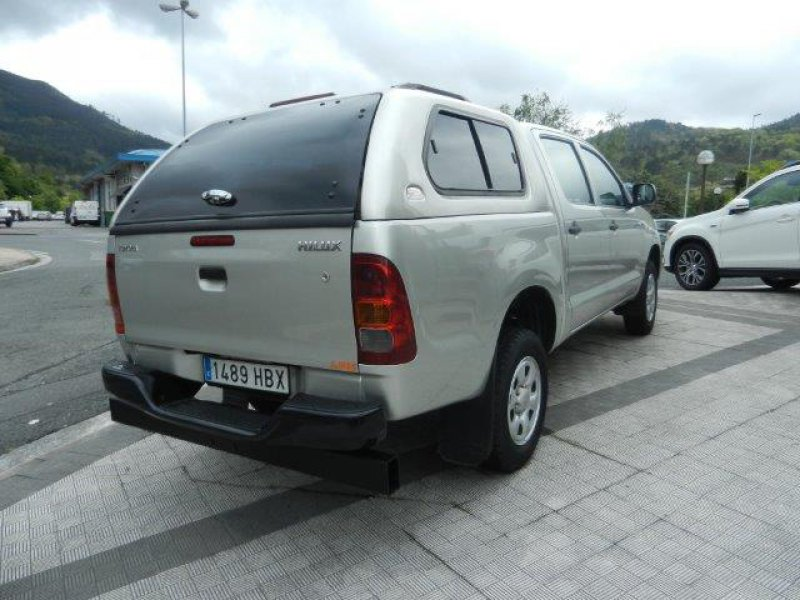 Toyota Hilux 2.5 D-4D Cabina Doble 4x4 GX
