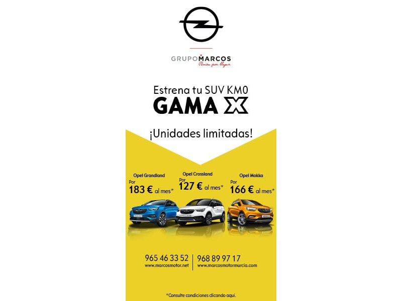 Opel  Sin determinar Gama X