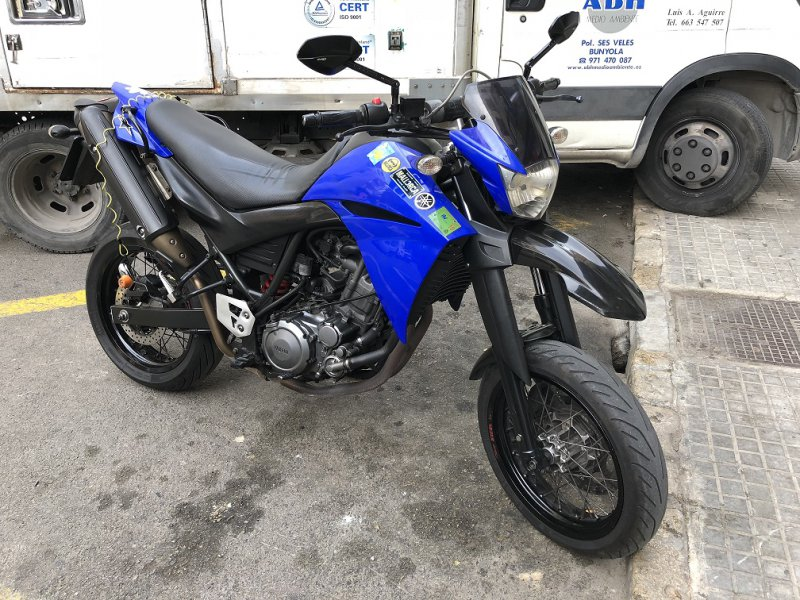 Yamaha XT660X  MONOCILINDRICO MOTOCICLETA