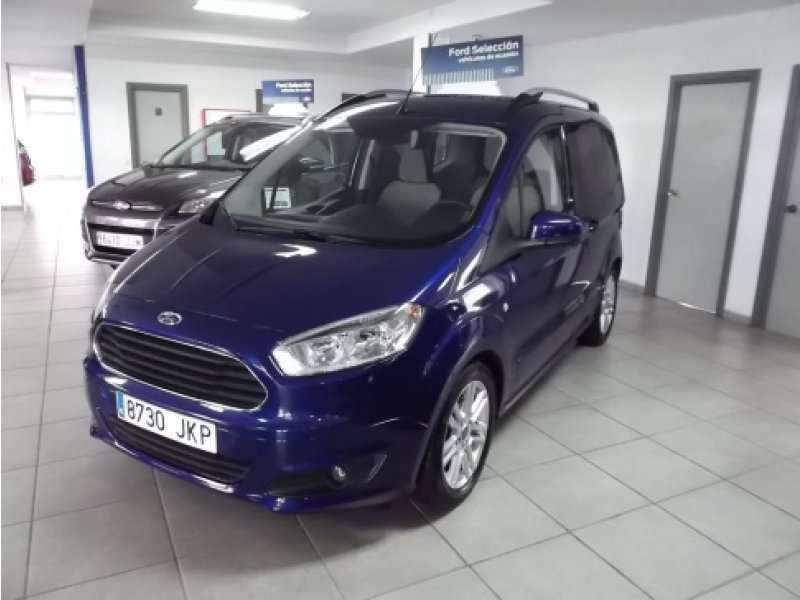 ford tourneo courier 1 5 tdci 95cv titanium diesel azul. Black Bedroom Furniture Sets. Home Design Ideas
