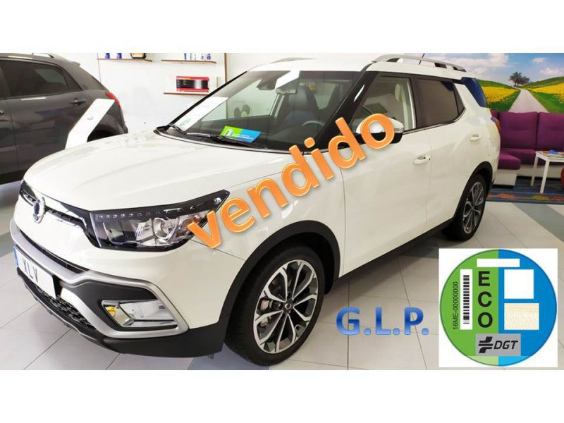 SsangYong XLV G16 4x2 BI FUEL GAS/GASOLINA Limited
