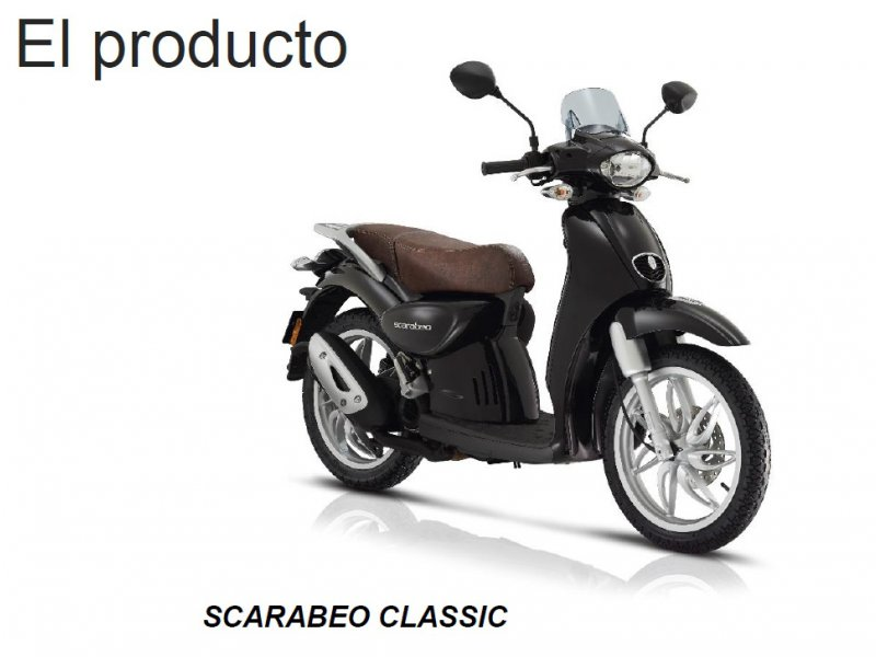 Scarabeo 50 Street MONOCILINDRICO SCOOTER