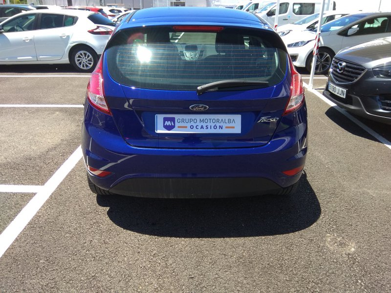 Ford Fiesta 1.25 Duratec 60kW 82CV5p Trend