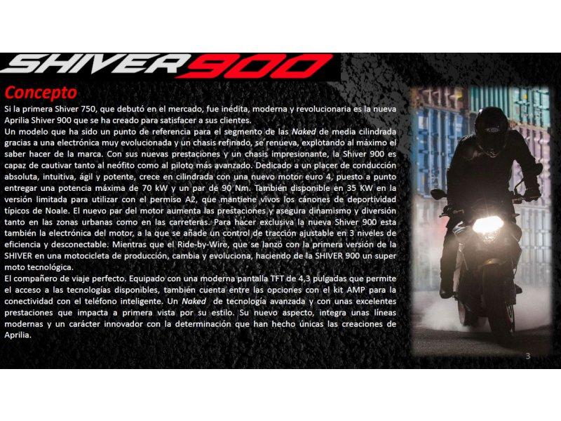 Aprilia Shiver BICILINDRICO MOTOCICLETA