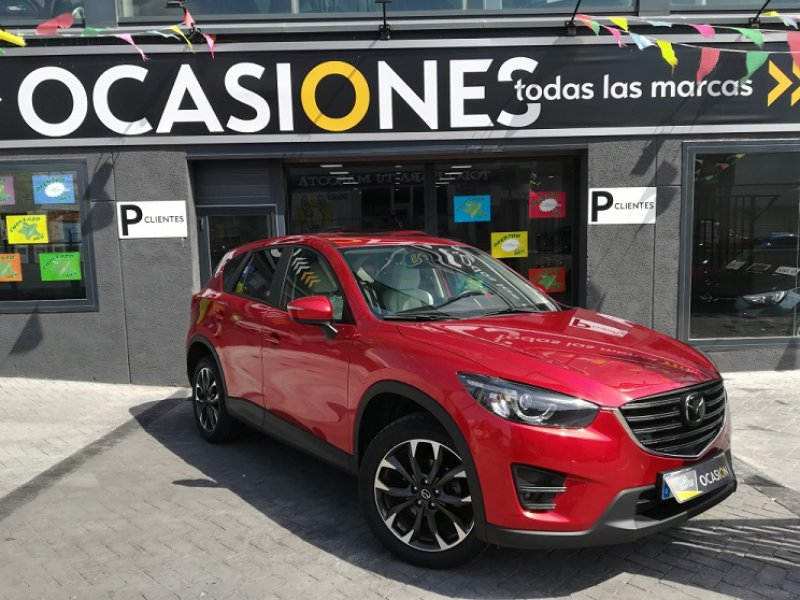 Mazda CX-5 2.2 DE 4WD AT Lux.+P.+T.+SR (CB) 175cv AUT. Luxury + Premium + Travel + SunRoof