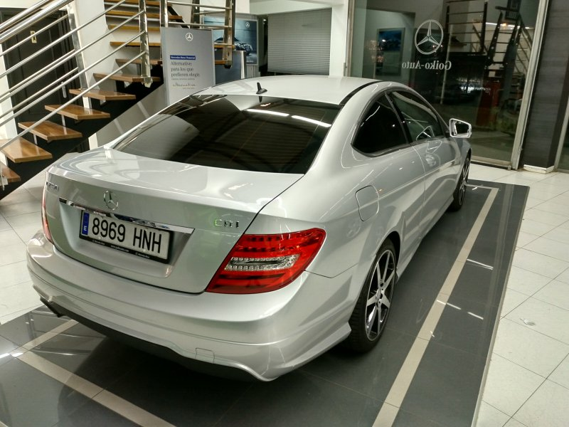 Mercedes-Benz Clase C C 250 CDI Blue Efficiency Coupé -