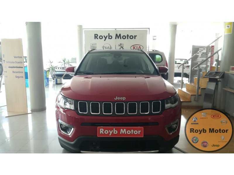 Jeep Compass 2.0 Mjet 125kW 4x4 AD Auto Limited