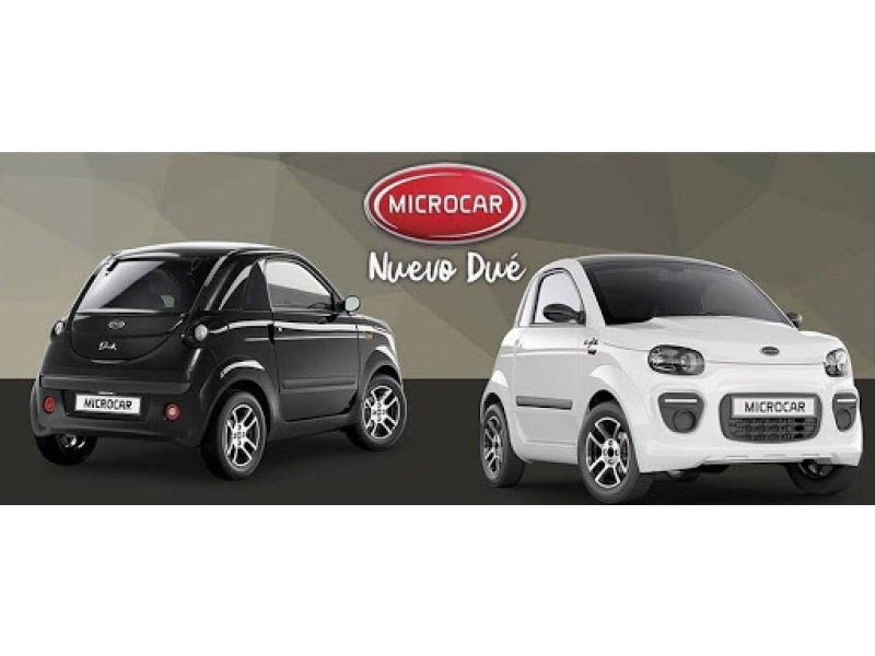 Microcar Due Dynamic 2020 DUE YOUNG B&W