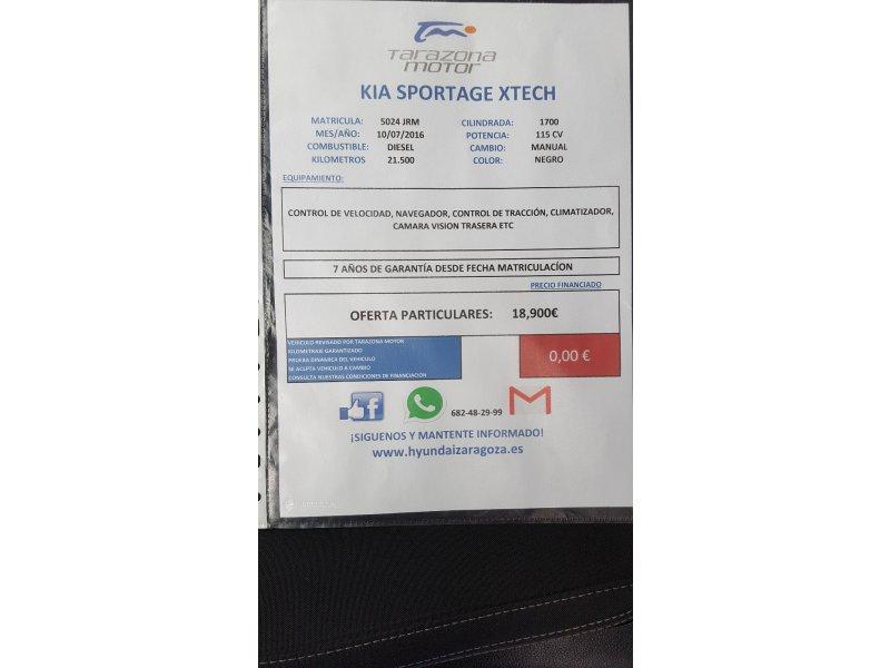 Kia Sportage 1.7 CRDI VGT 115CV 4x2 Drive
