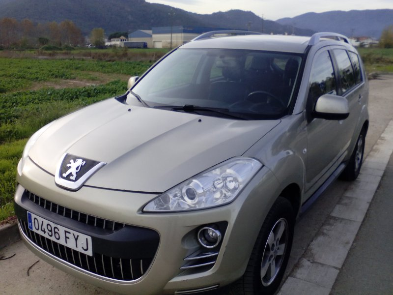 Peugeot 4007 5 plazas 2.2 HDI 156 FAP Business Line