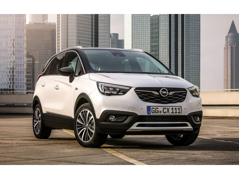opel crossland x 1 2 ecotec 81 cv selective gasolina blanco con 1kms en barcelona. Black Bedroom Furniture Sets. Home Design Ideas